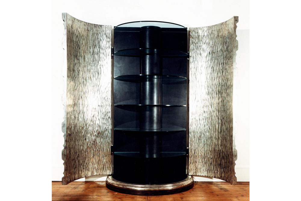 Barleytwist Cabinet © Peter Stern Furniture Design